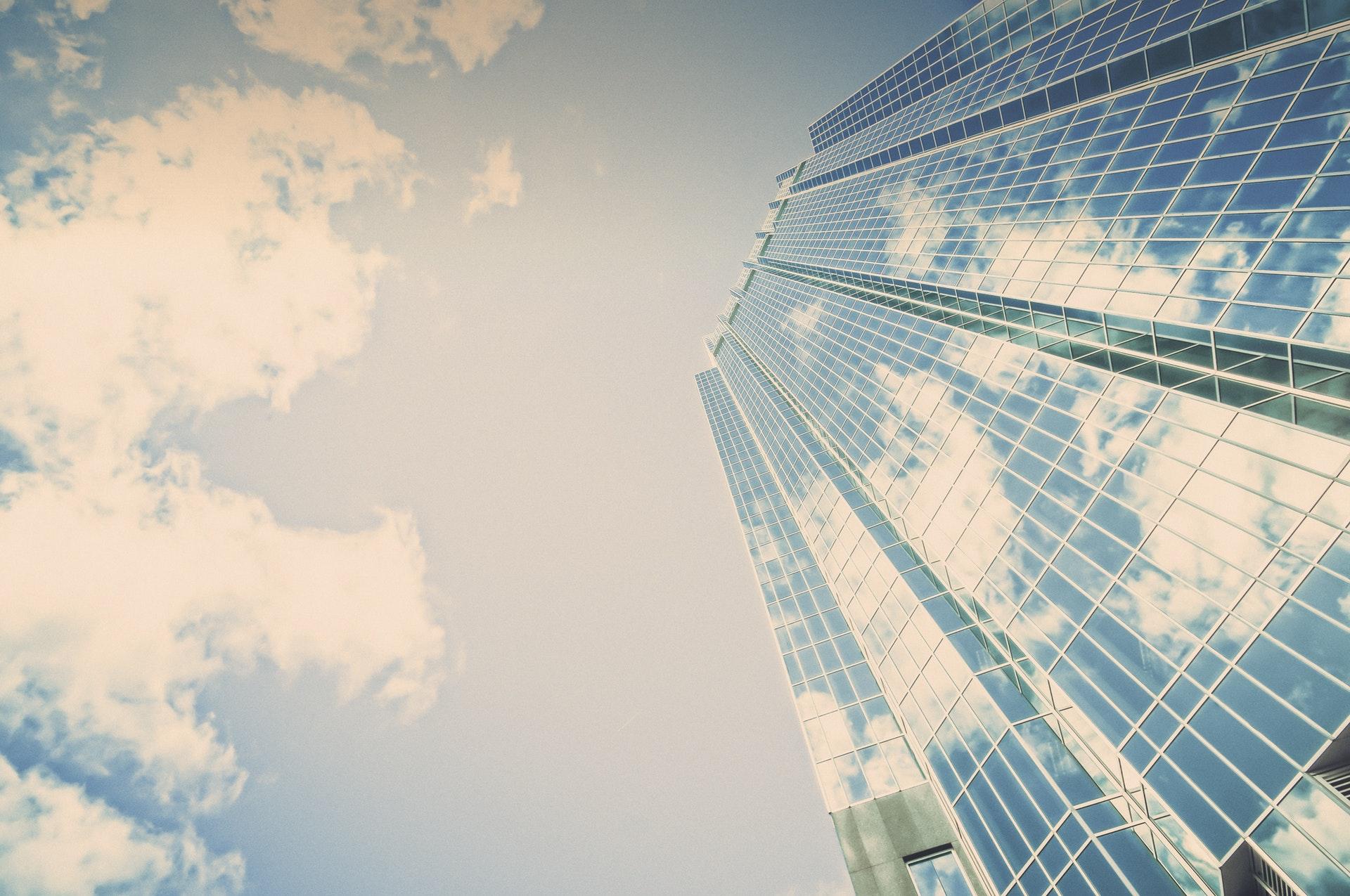 Grattacielo in vetro