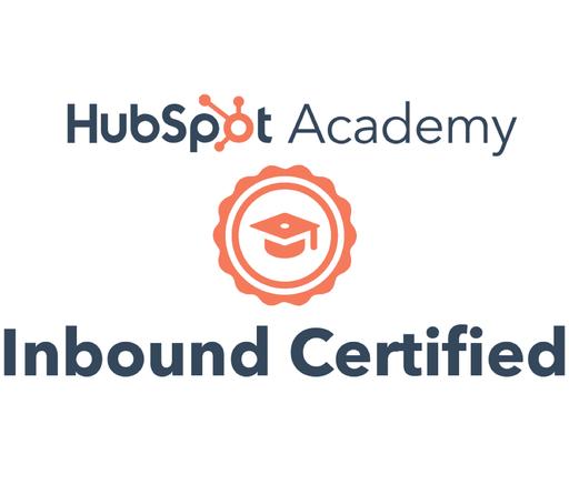 Hubspot Academy Inboud Certified